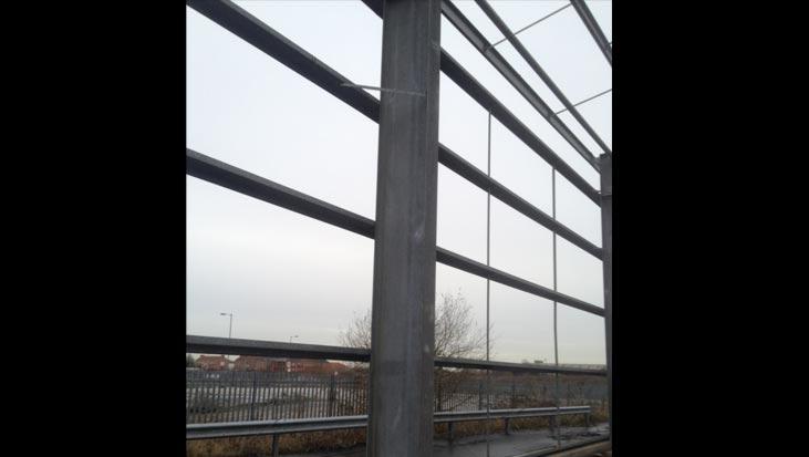 Used Steel Portal Frames At B&H Buildings LTD